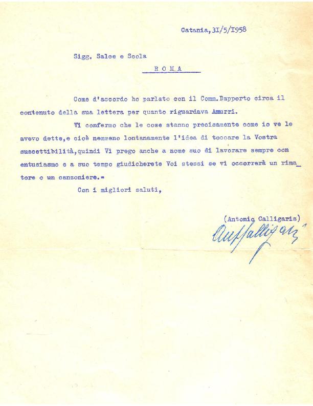 Calligaris (31-05-1958)