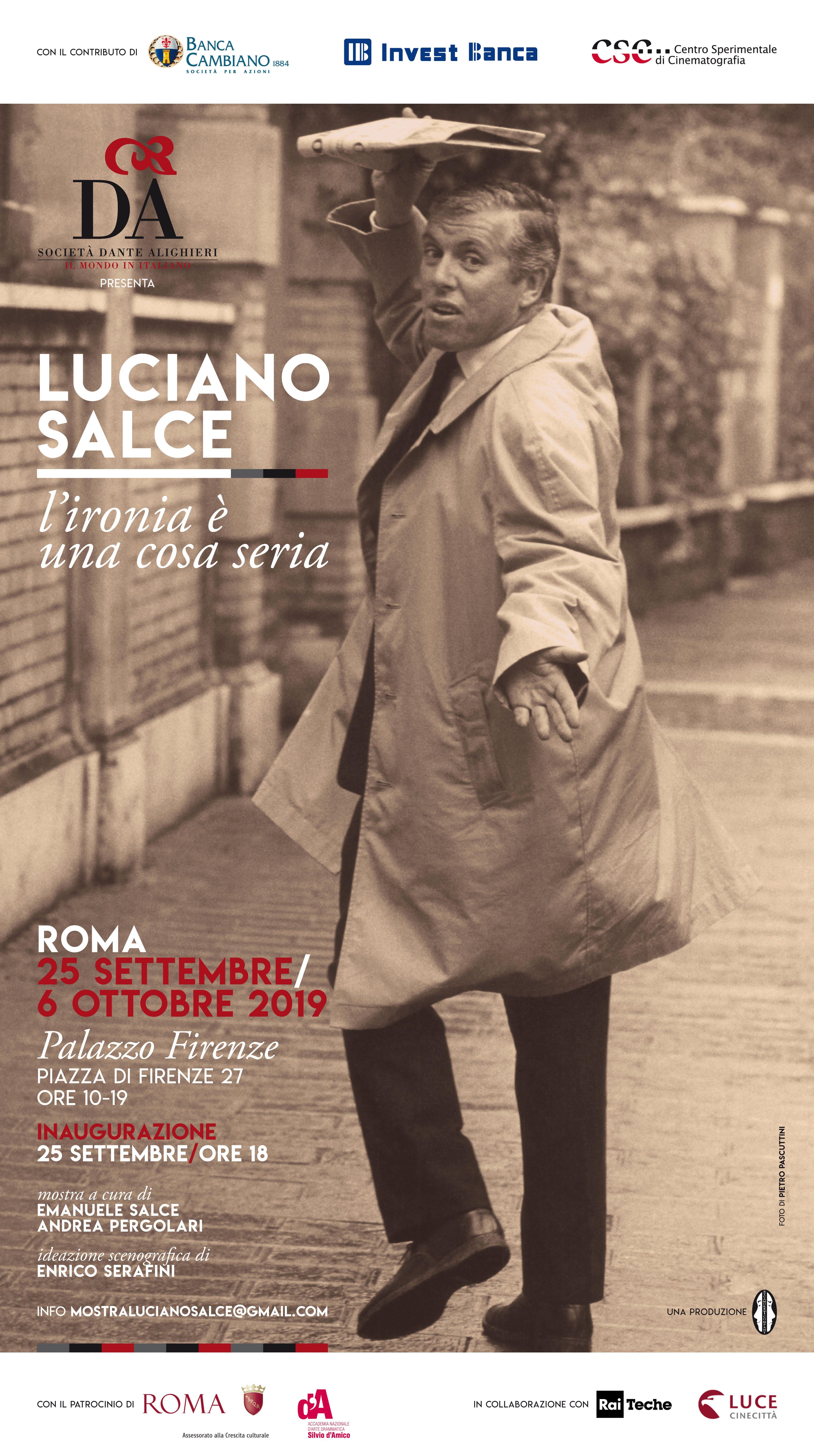 Manifesto mostra Luciano Salce